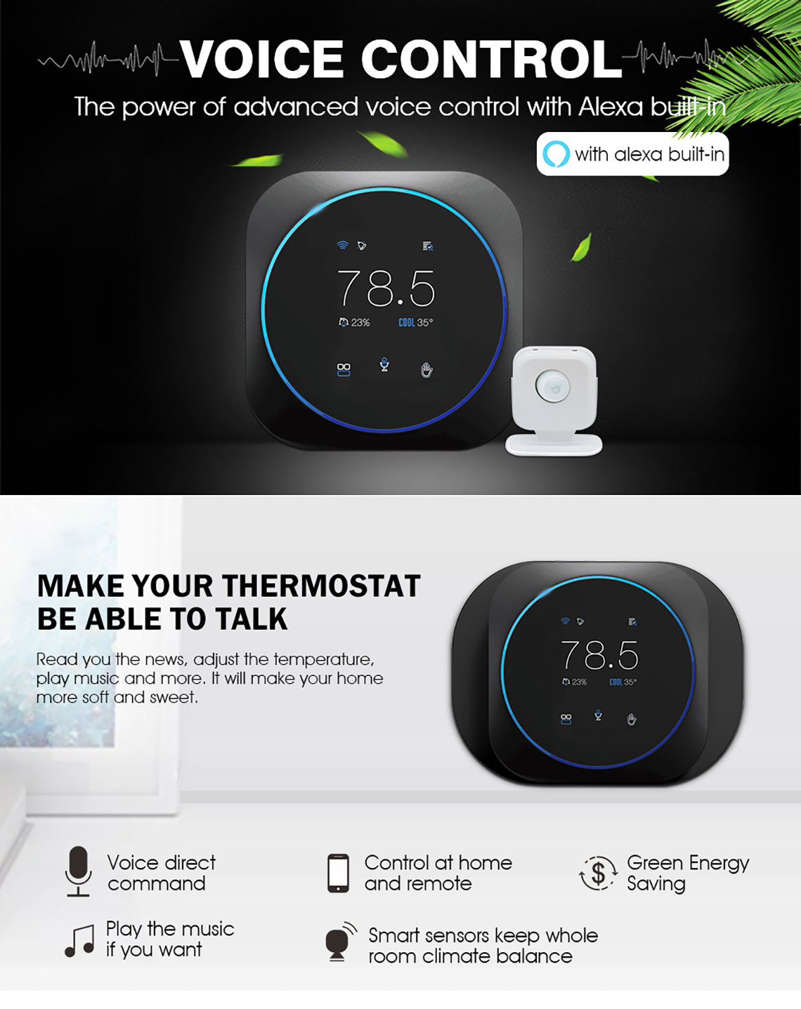 Programmable wifi thermostat