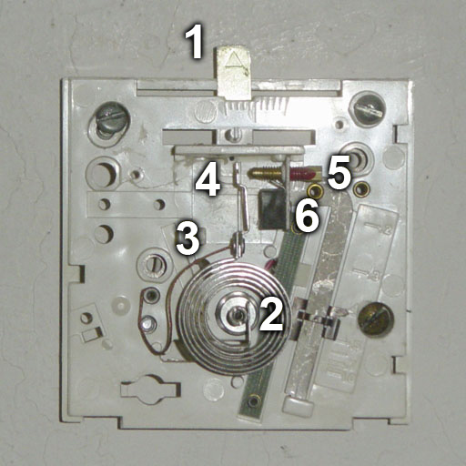 Simple two wire thermostats